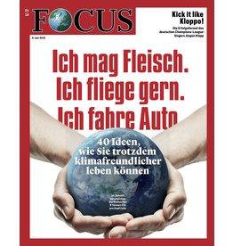 FOCUS Magazin Ich mag Fleisch. Ich fliege gern. Ich fahre Auto.