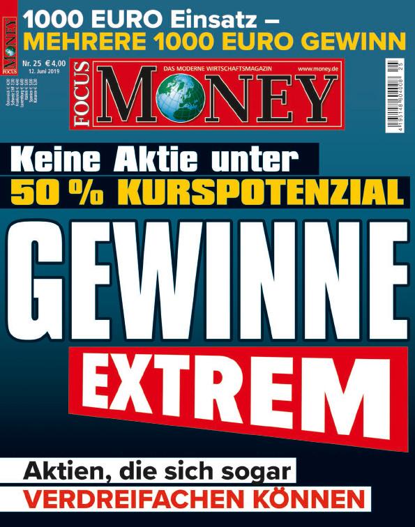 FOCUS-MONEY FOCUS MONEY – 50 Prozent plus x