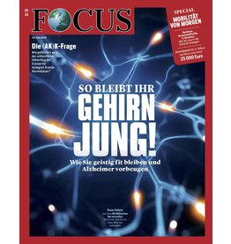 FOCUS Magazin So bleibt Ihr Gehirn jung!