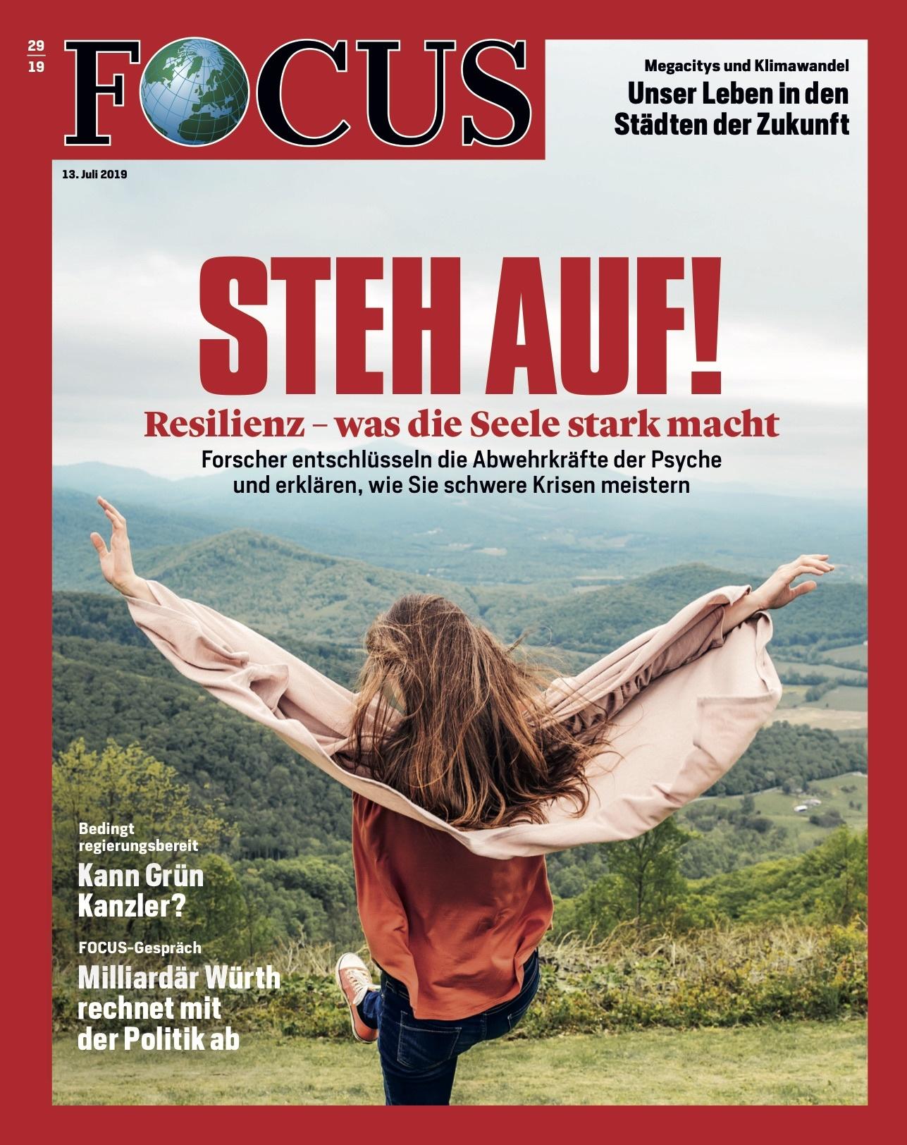 FOCUS Magazin FOCUS Magazin - Steh auf!