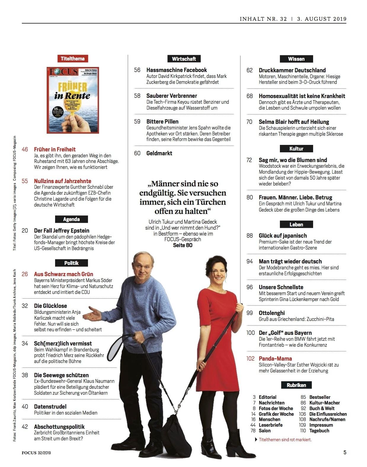 FOCUS Magazin FOCUS Magazin - Früher in Rente