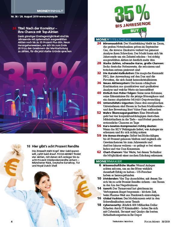 FOCUS-MONEY FOCUS MONEY – Nach der Korrektur – 35 Prozent bis Jahresende