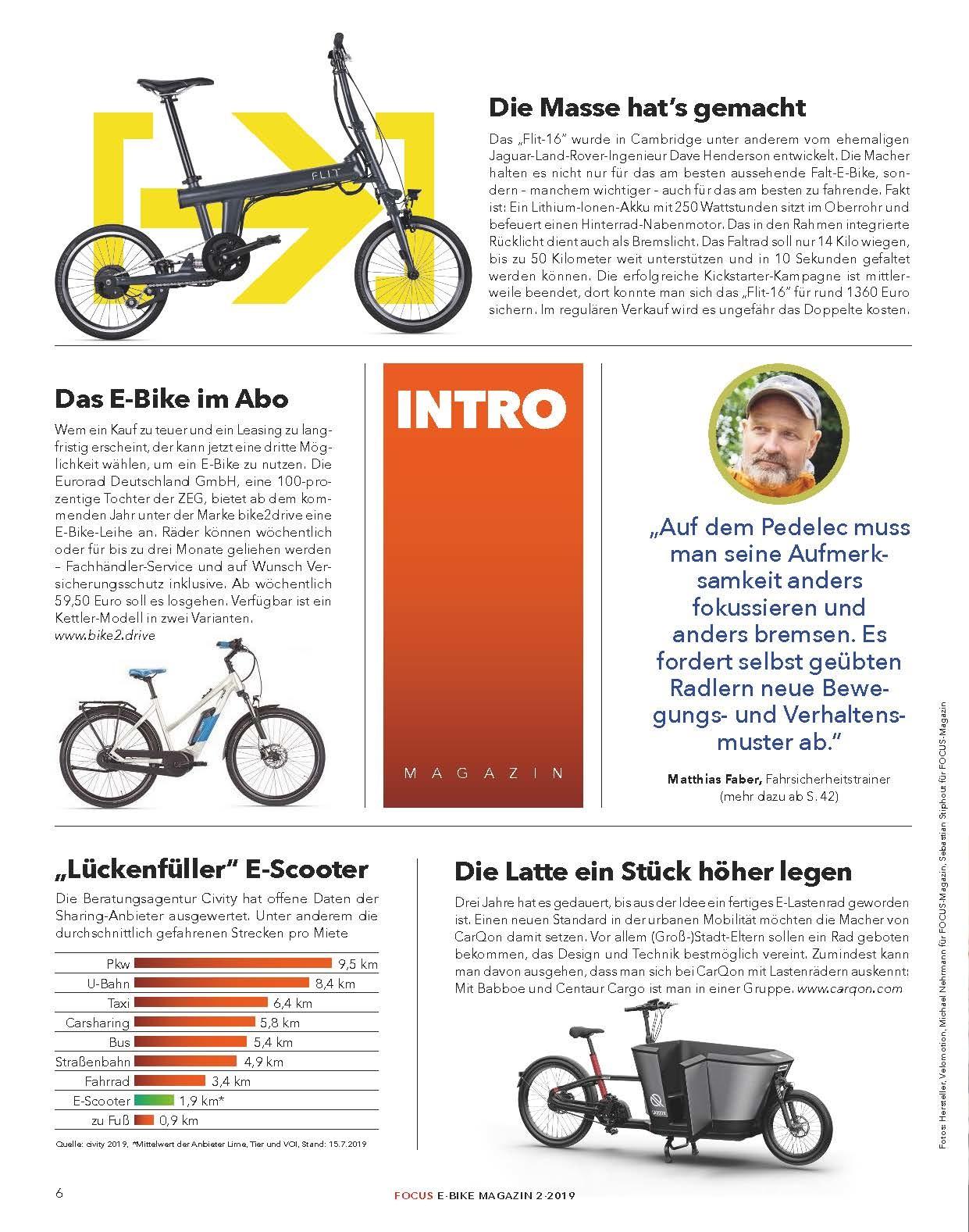 FOCUS Magazin FOCUS E-Bike 02/2019