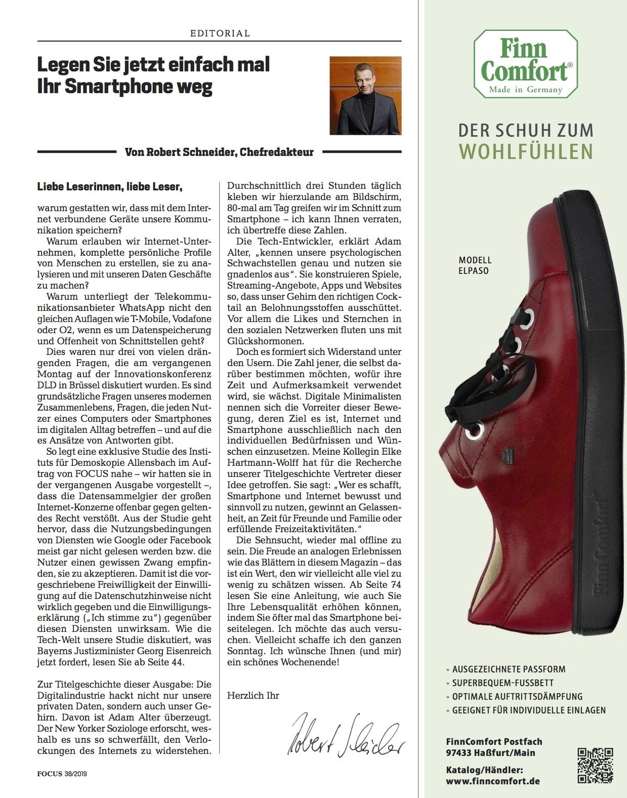 FOCUS Magazin FOCUS Magazin - Was das Leben leichter macht