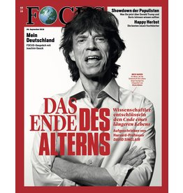 FOCUS Magazin Das Ende des Alterns