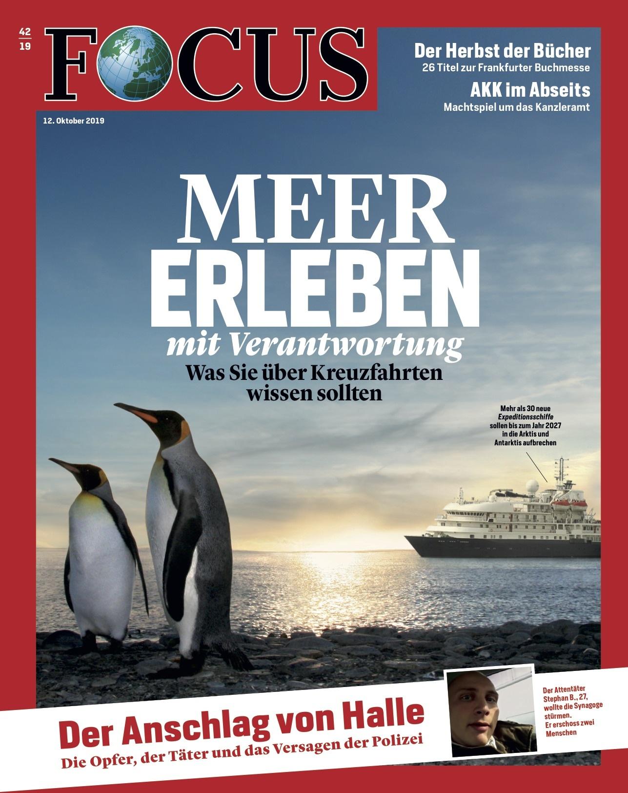 FOCUS Magazin FOCUS Magazin - Meer erleben mit Verantwortung