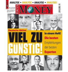 FOCUS-MONEY Deutsche Aktien – viel zu günstig!