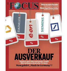 FOCUS Magazin Der Ausverkauf