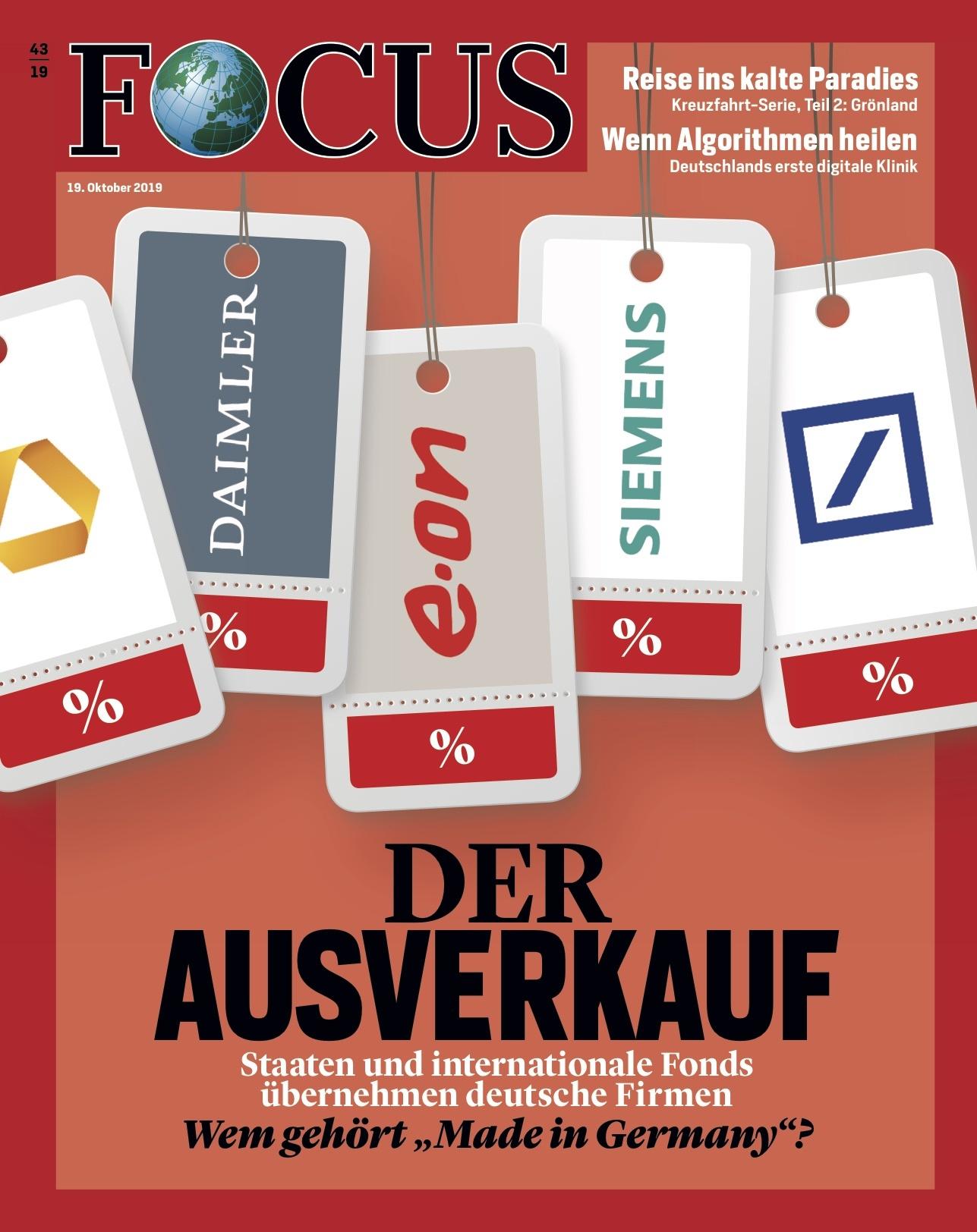 FOCUS Magazin FOCUS Magazin - Der Ausverkauf