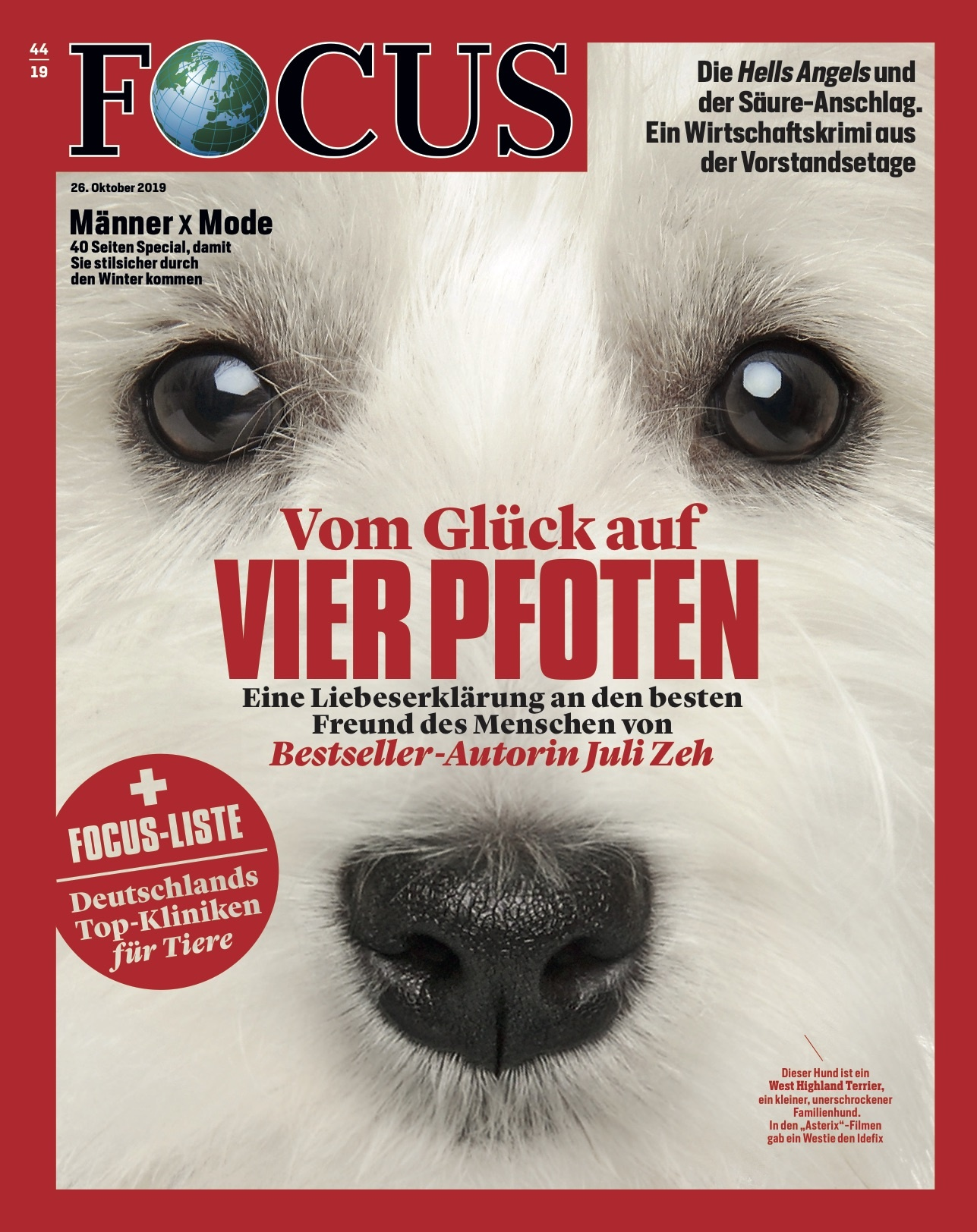 FOCUS Magazin FOCUS Magazin - Vom Glück auf vier Pfoten