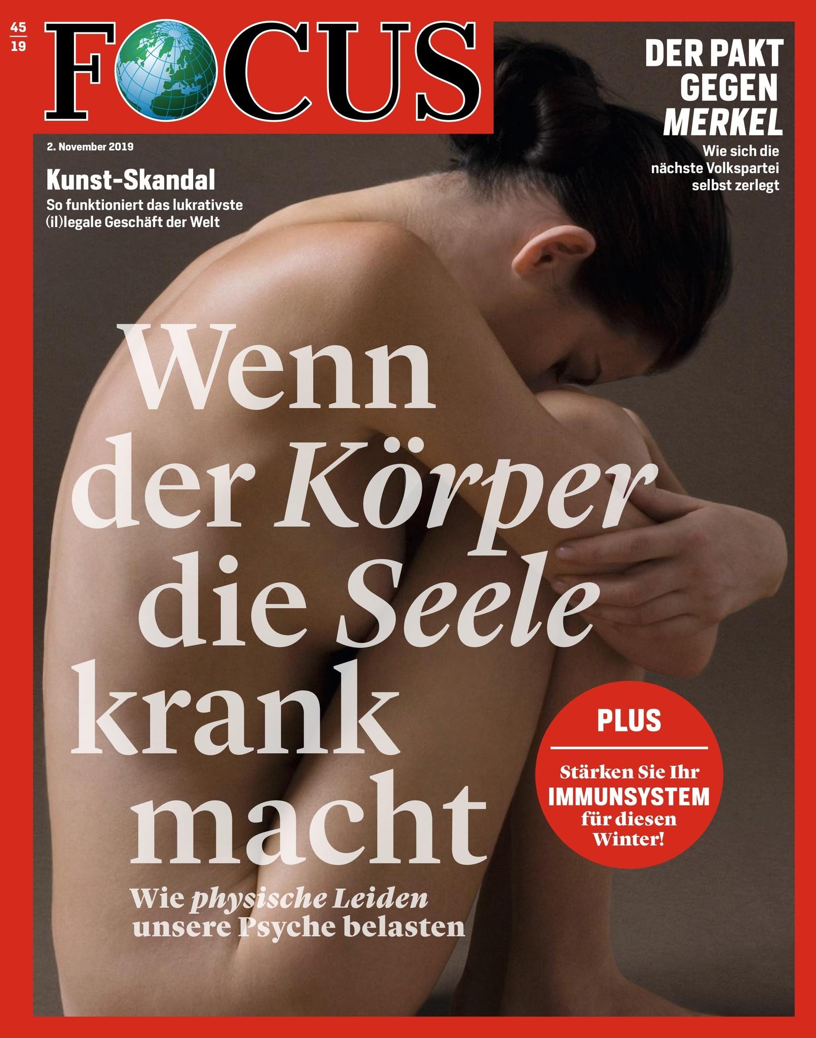 FOCUS Magazin FOCUS Magazin - Wenn der Körper die Seele krank macht