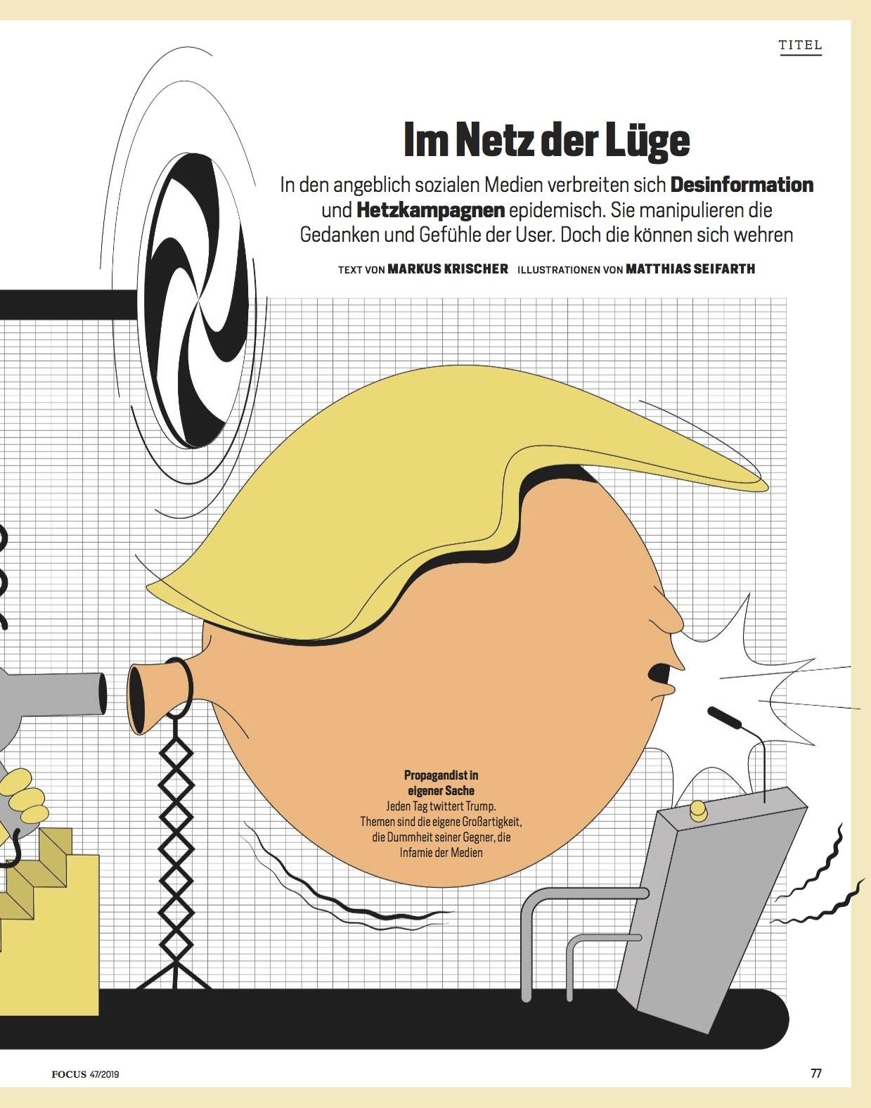 FOCUS Magazin FOCUS Magazin - Die Macht der Manipulation
