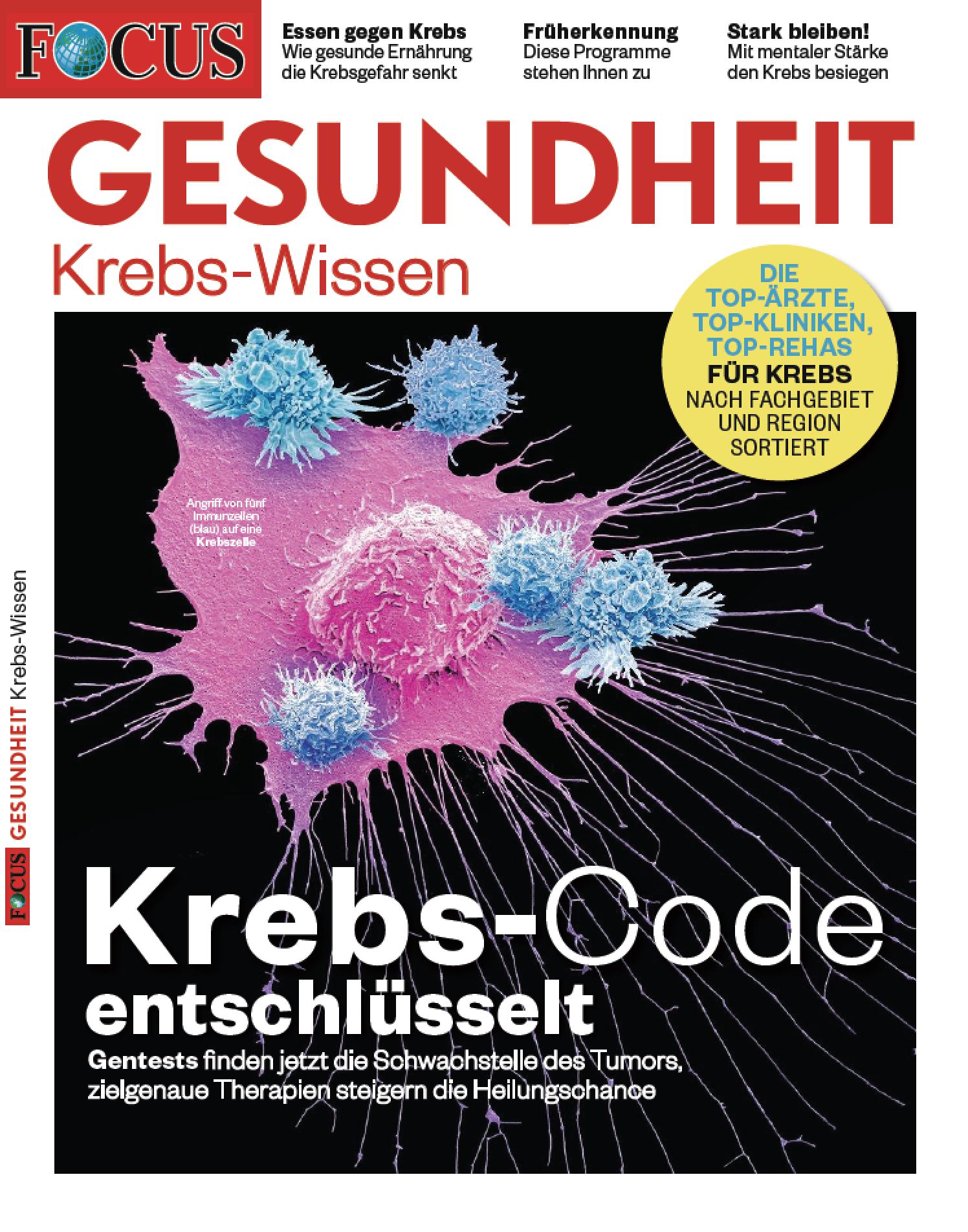 FOCUS-GESUNDHEIT FOCUS GESUNDHEIT - Krebs 2019