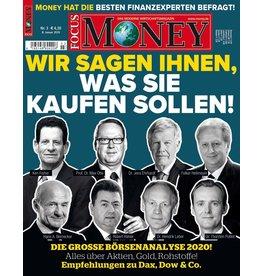 FOCUS MONEY Die große Börsenanalyse 2020. Alles über Aktien, Gold, Rohstoffe