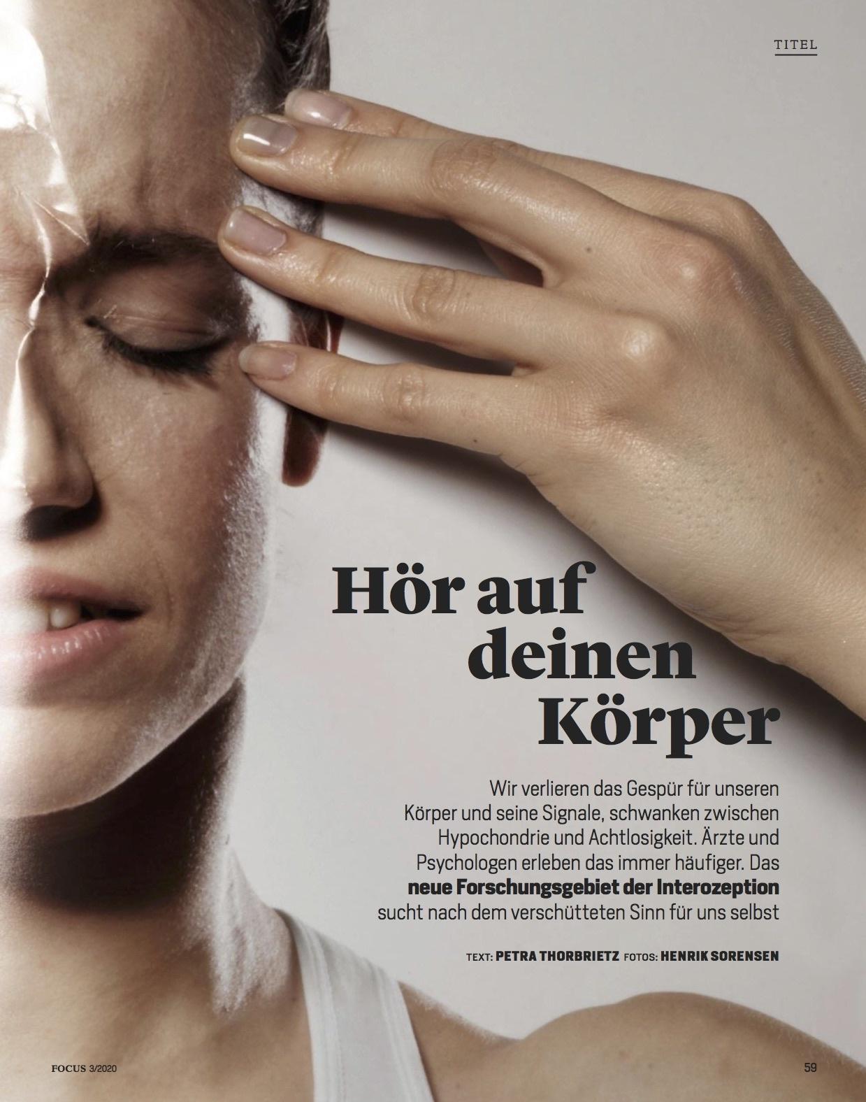 FOCUS Magazin FOCUS Magazin - Hör auf deinen Körper