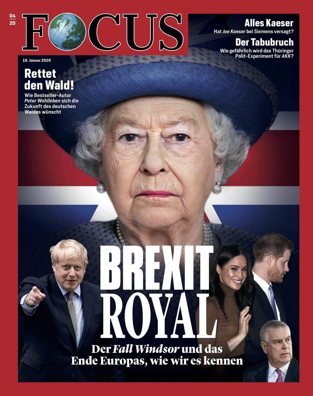 FOCUS Magazin FOCUS Magazin - Brexit Royal