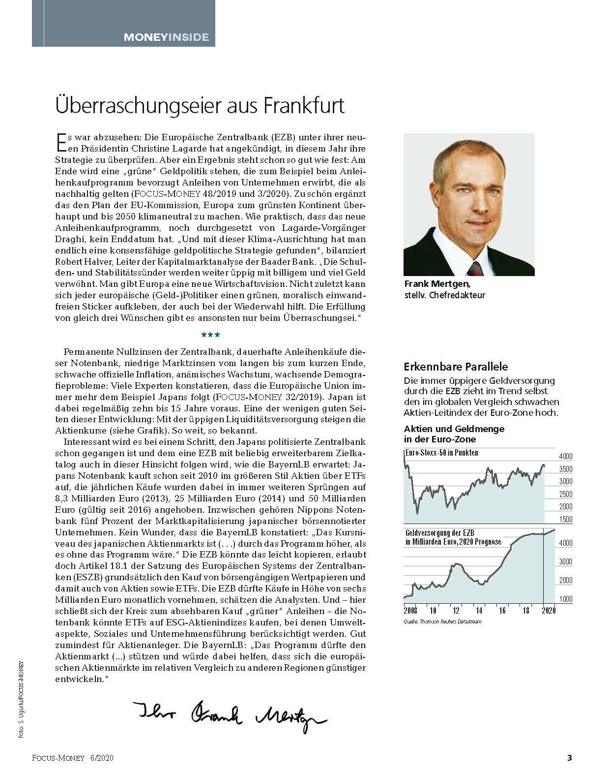 FOCUS-MONEY FOCUS MONEY– Gewinne extrem: keine Aktien unter 50% Kurspotenzial