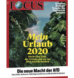 FOCUS Magazin Mein Urlaub 2020