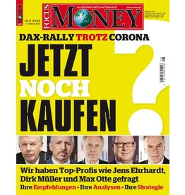 FOCUS-MONEY Dax-Rally trotz Corona: Jetzt noch kaufen?