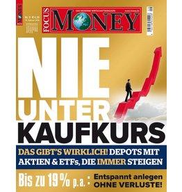 FOCUS-MONEY Nie unter Kaufkurs: Entspannt anlegen ohne Verluste!