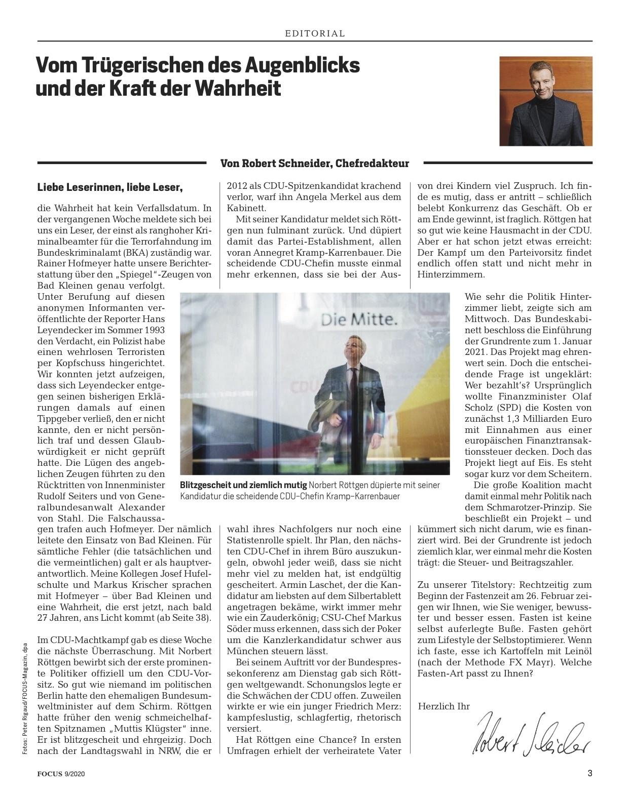 FOCUS Magazin FOCUS Magazin - Der Fasten-Kompass