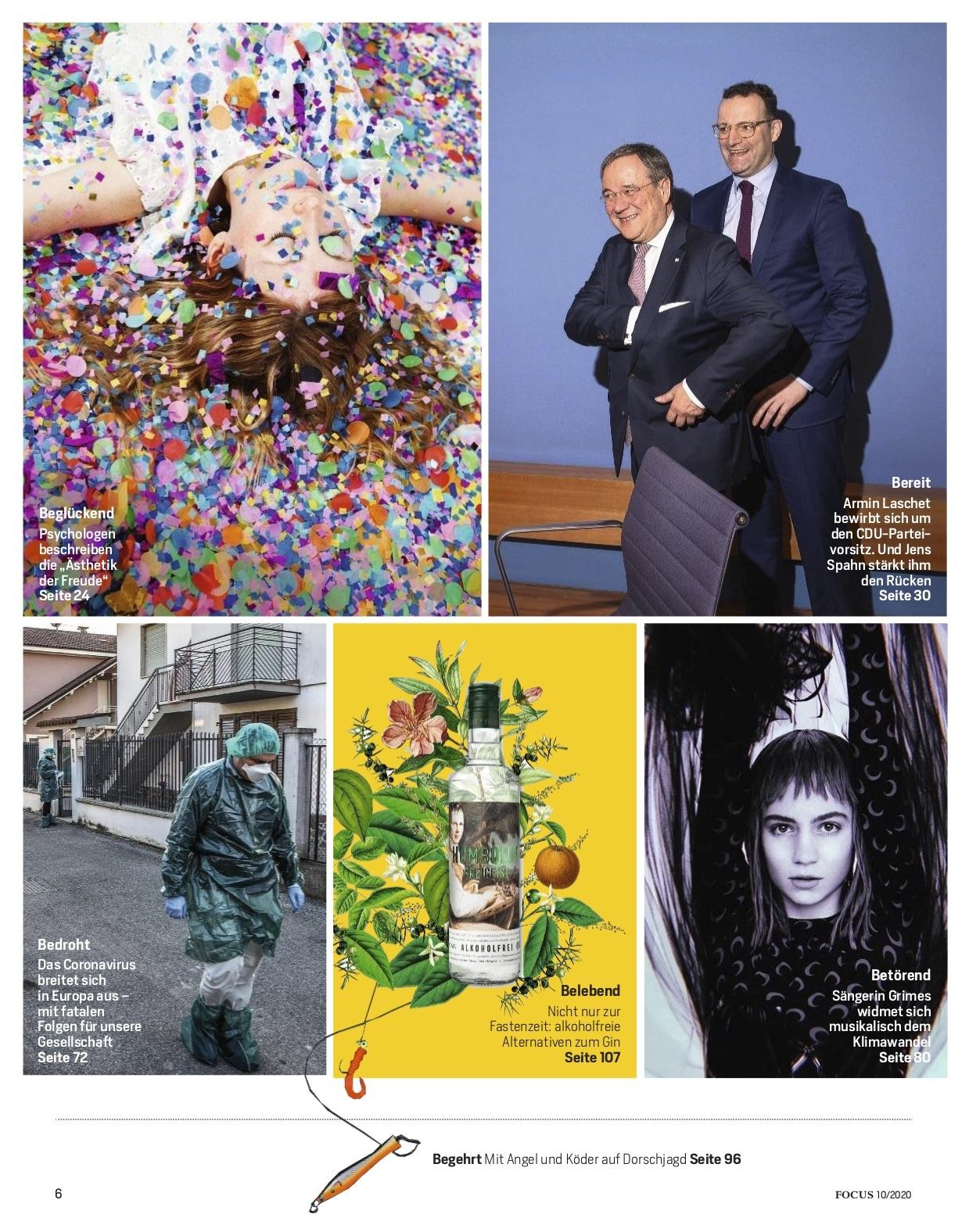 FOCUS Magazin FOCUS Magazin - Neustart für die Seele