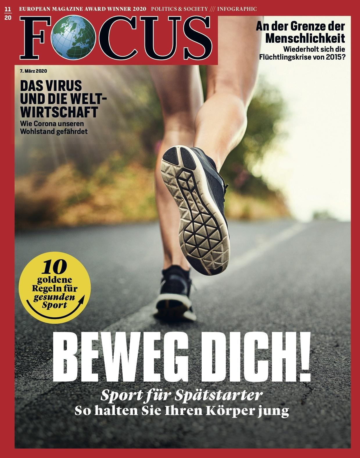 FOCUS Magazin FOCUS Magazin - Beweg dich!