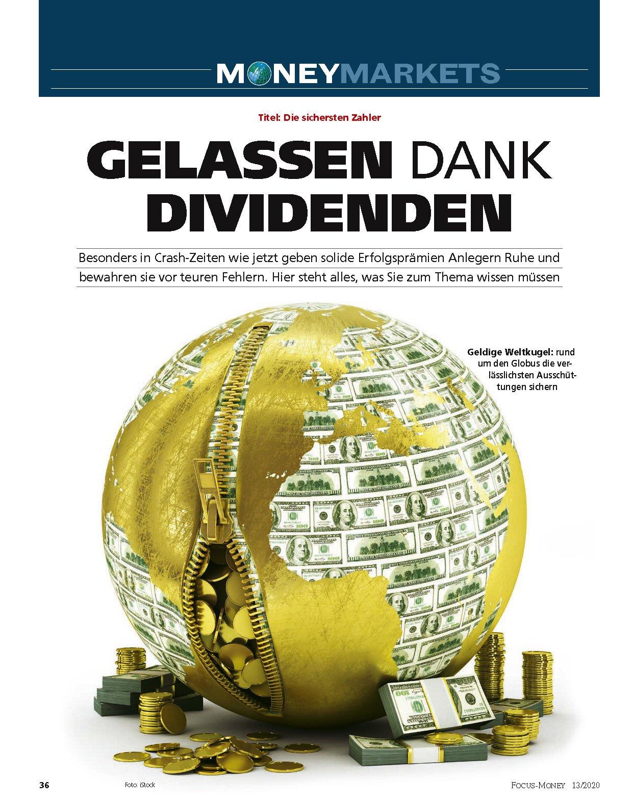 FOCUS-MONEY FOCUS MONEY – Die sichersten Dividendenaktien der Welt
