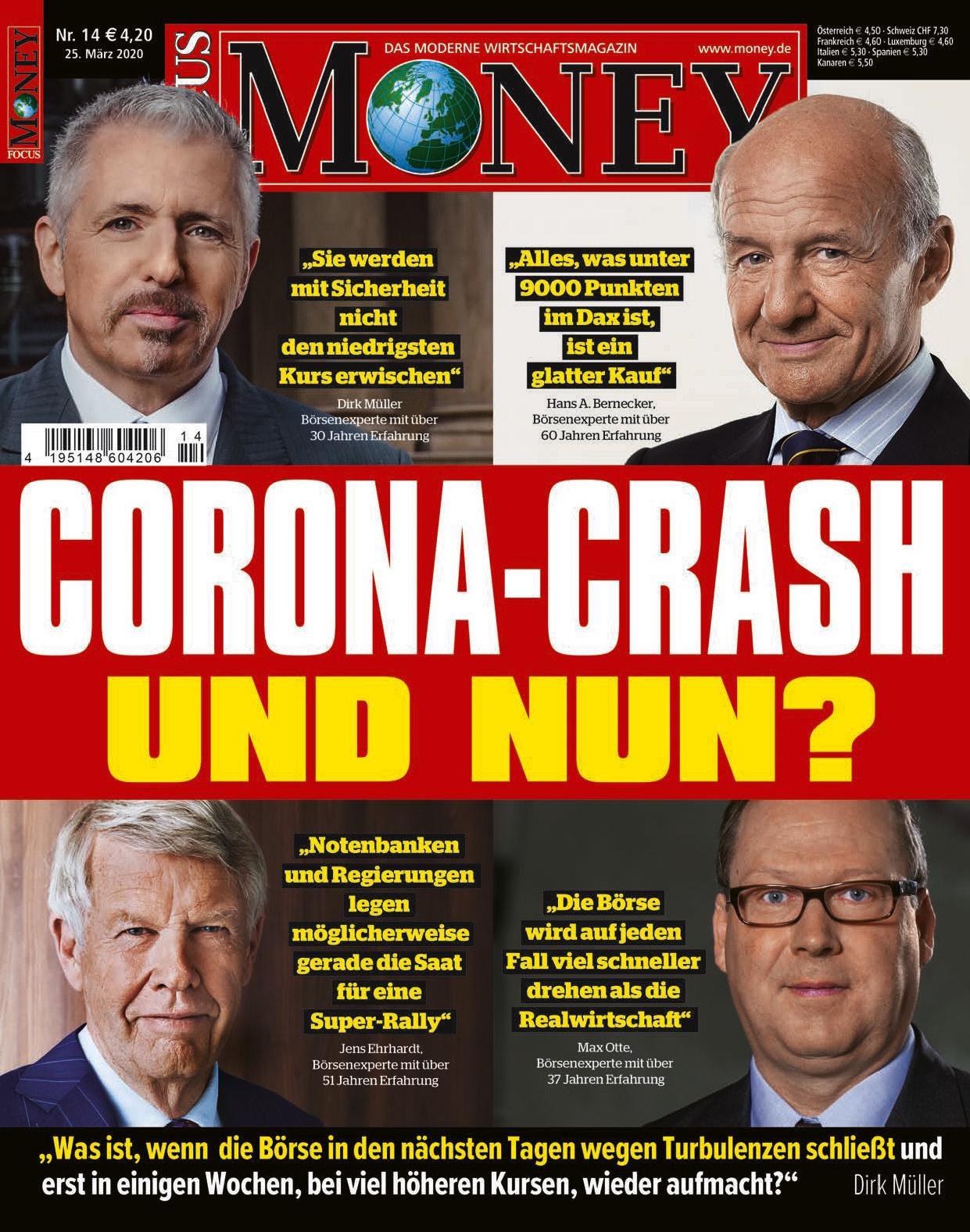 FOCUS-MONEY FOCUS MONEY – Corona-Crash: Und nun?