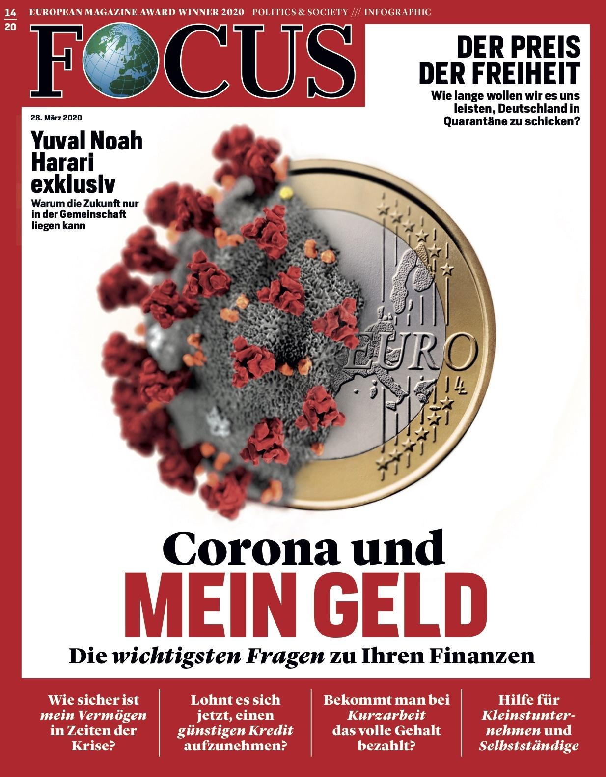 FOCUS Magazin FOCUS Magazin - Corona und mein Geld