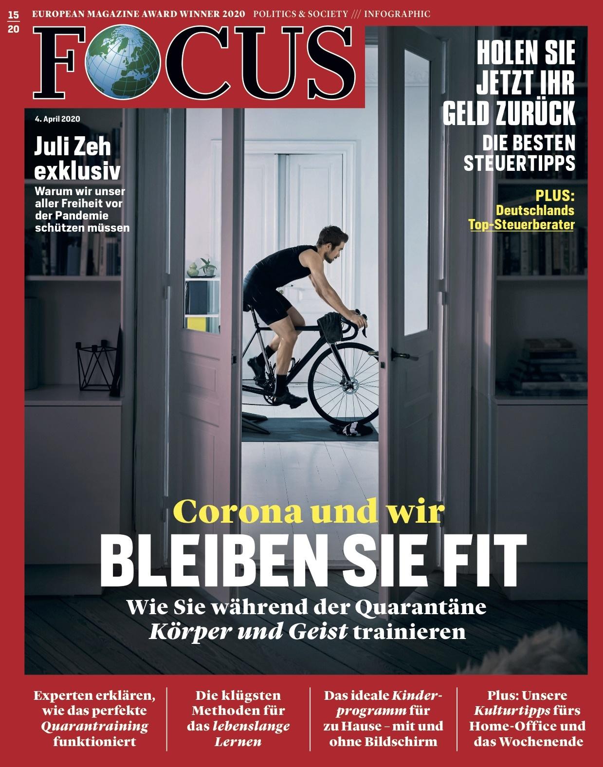 FOCUS Magazin  FOCUS Magazin - Bleiben Sie fit