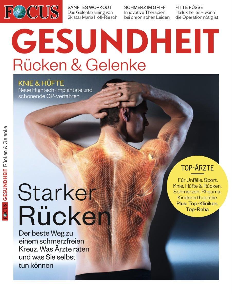 FOCUS-GESUNDHEIT FOCUS GESUNDHEIT - Rücken & Gelenke 2020