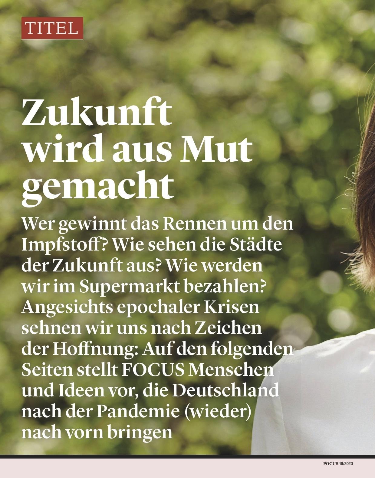 FOCUS Magazin FOCUS Magazin - Aufbruch Zukunft