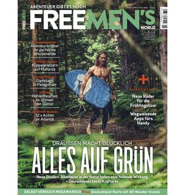 FREE MEN'S WORLD Alles auf Grün