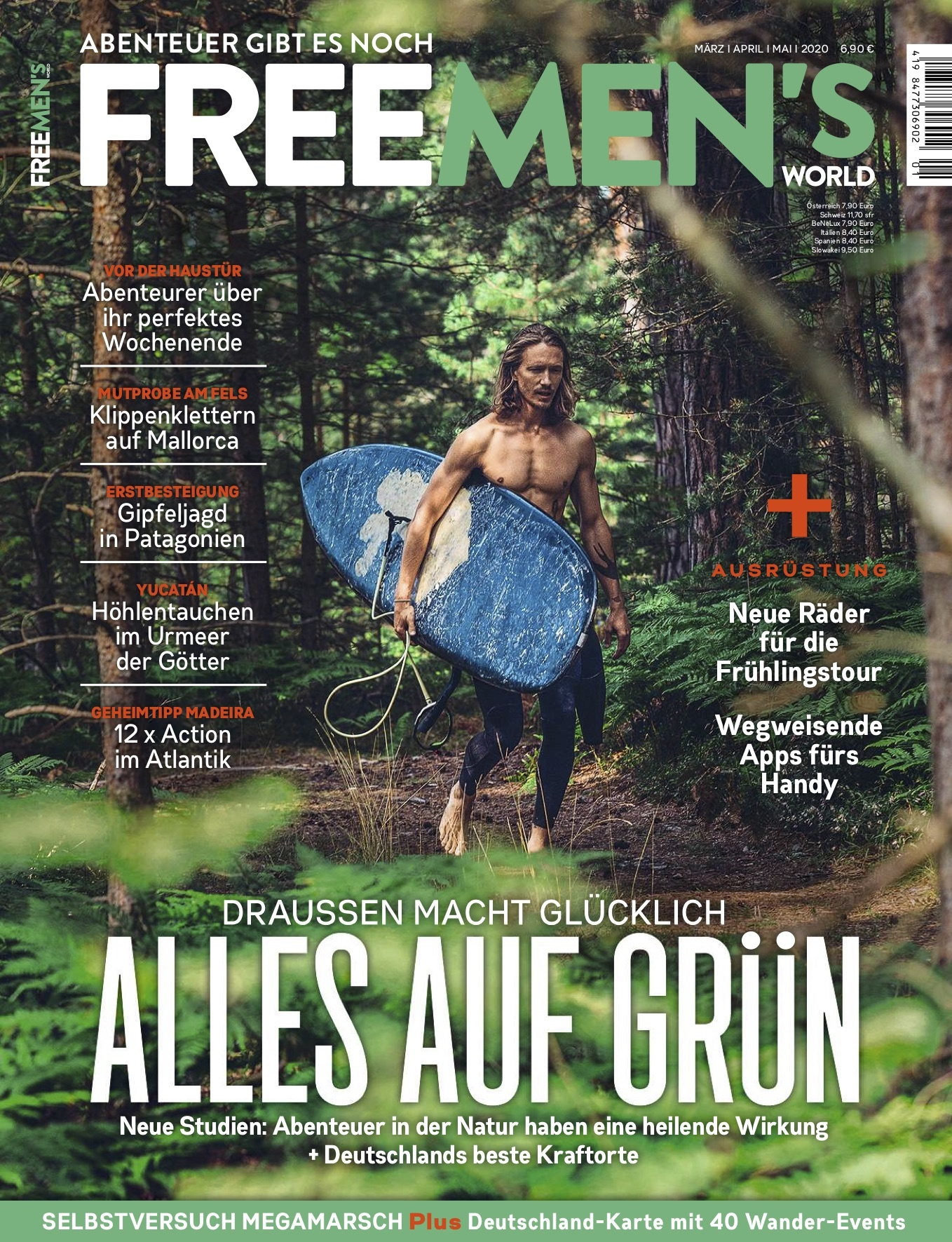 FREE MEN'S WORLD FREE MEN'S WORLD - Alles auf Grün