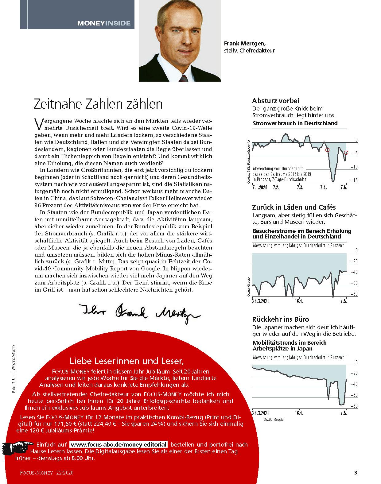 FOCUS-MONEY FOCUS MONEY – Wie lange noch...bis der Dax so hoch steht wie vor der Krise?
