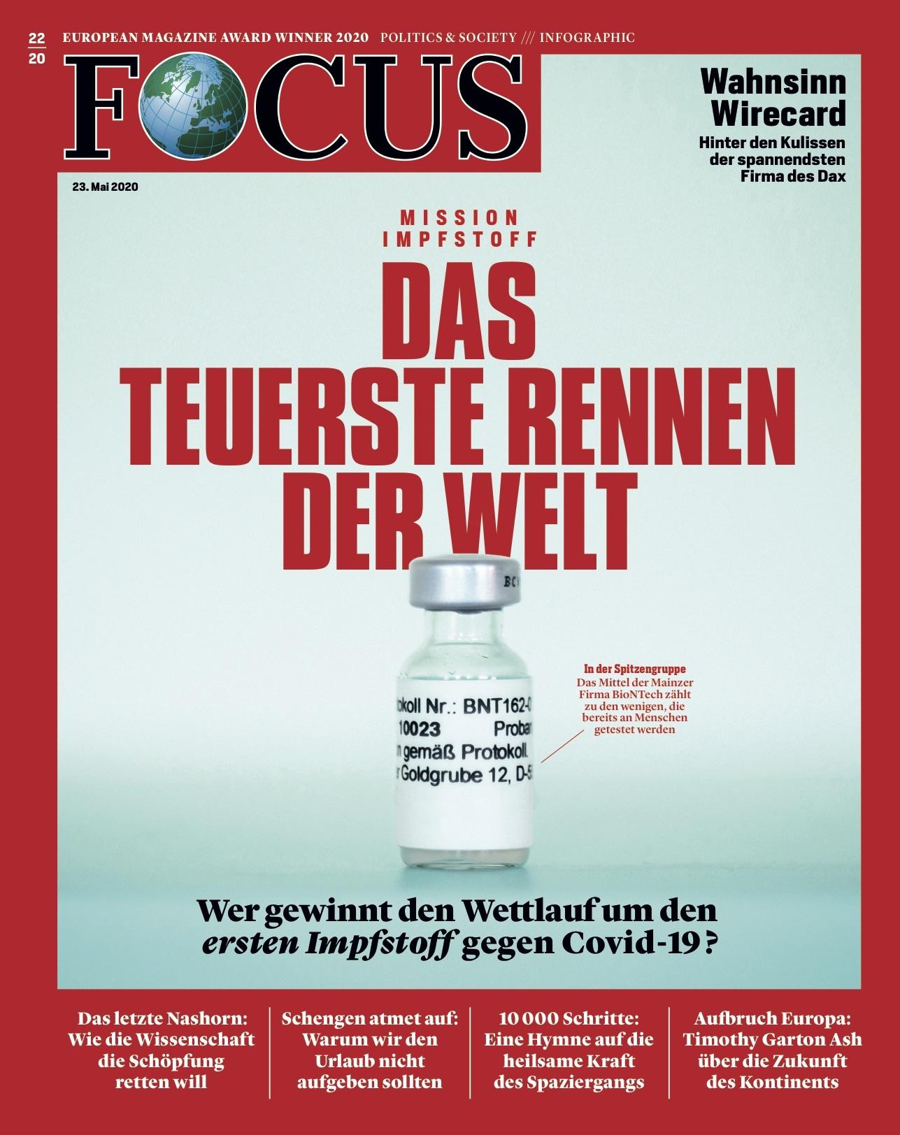 FOCUS Magazin FOCUS Magazin - Das teuerste Rennen der Welt
