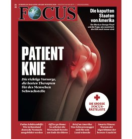 FOCUS Magazin Patient Knie