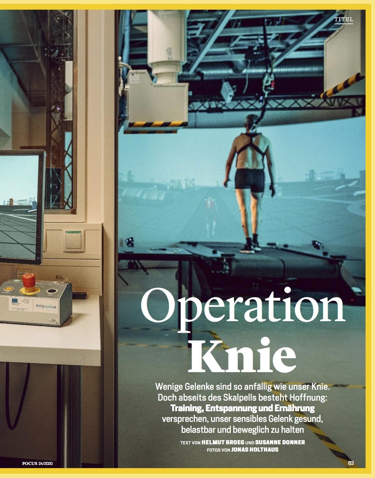FOCUS Magazin FOCUS Magazin - Patient Knie