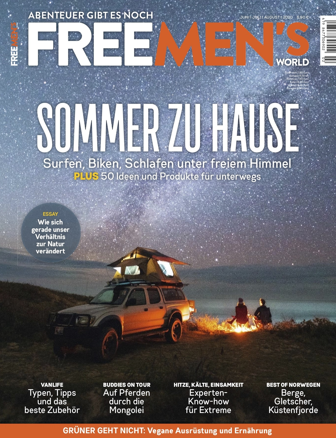 FREE MEN'S WORLD FREE MEN'S WORLD -  Sommer zu Hause