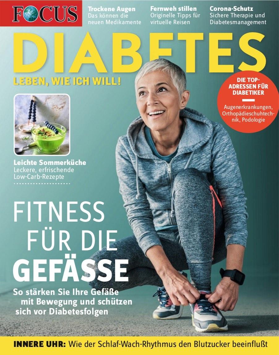 FOCUS DIABETES FCOUS DIABETES - Fitness für Gefäße 02/2020