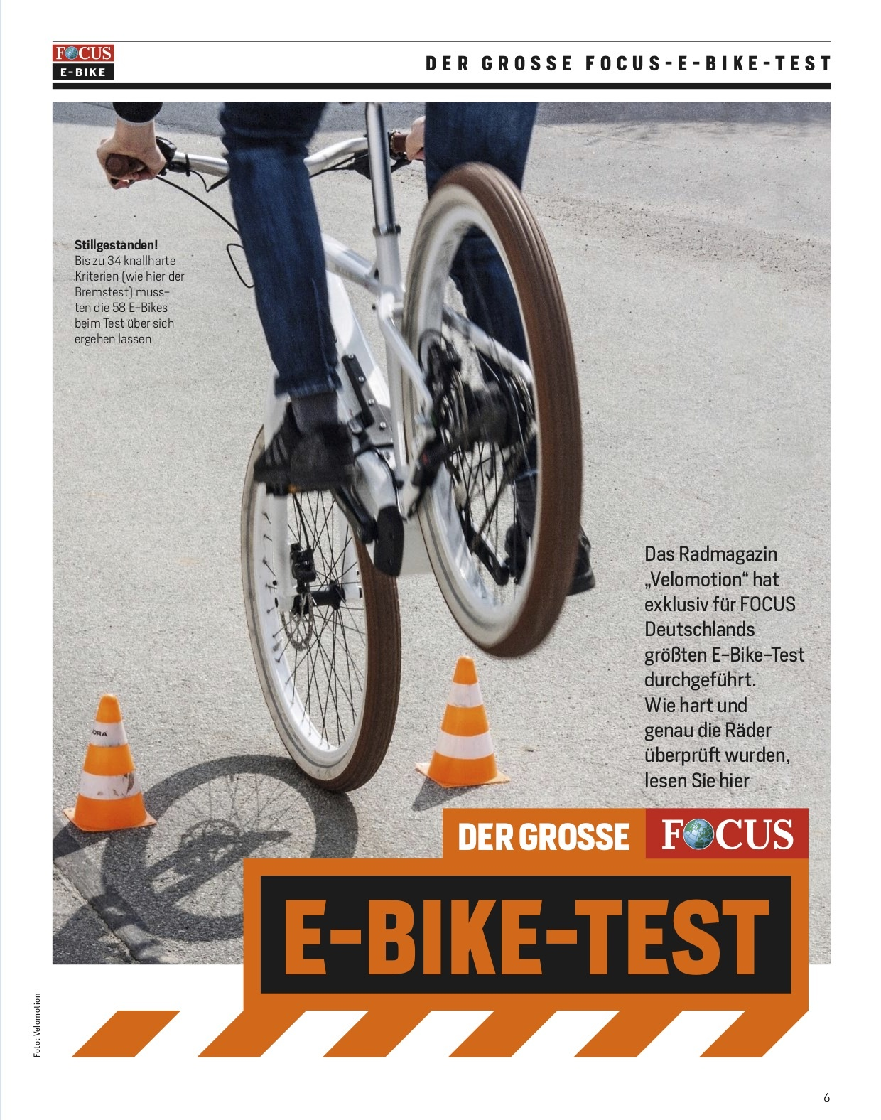 FOCUS E-BIKE- 5 Jahre E-BIKE Tests