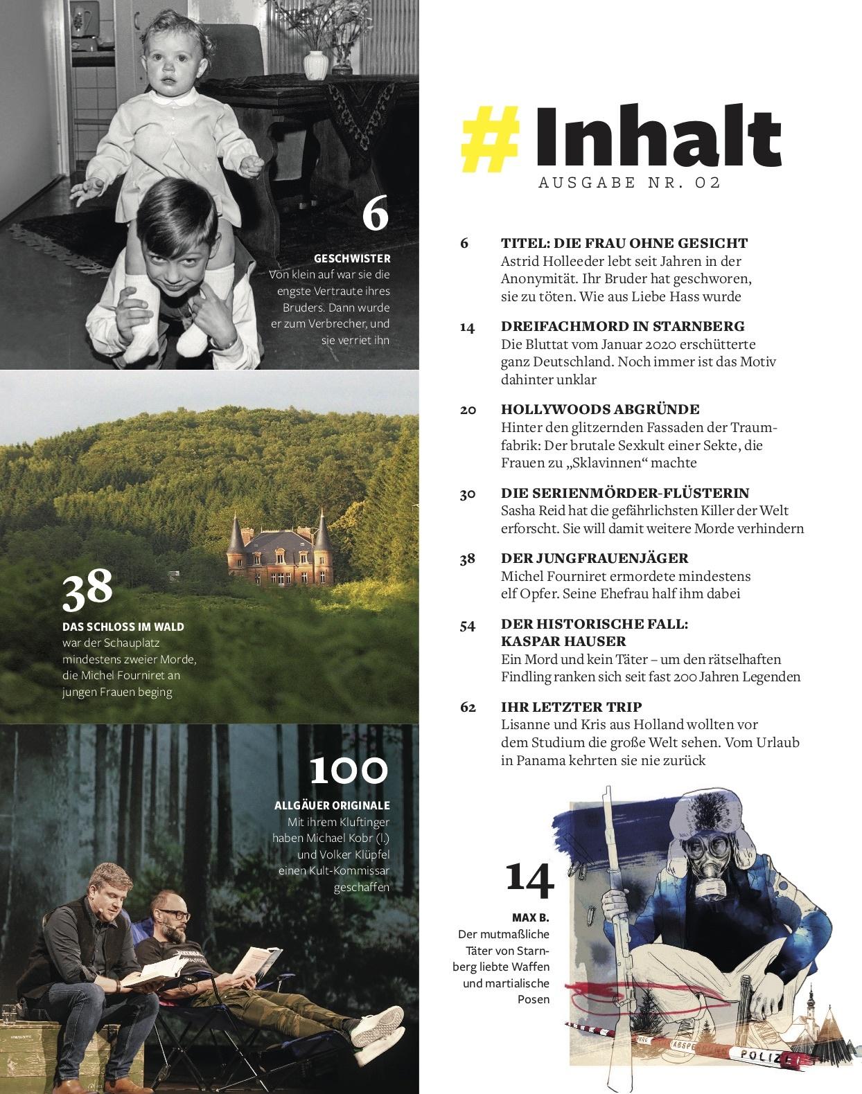 FOCUS Magazin FOCUS Sonderheft - Echte Verbrechen Nr. 02/2020