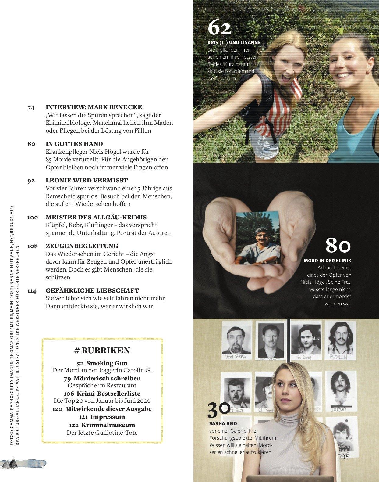 FOCUS Echte Verbrechen FOCUS Sonderheft - Echte Verbrechen Nr. 02/2020