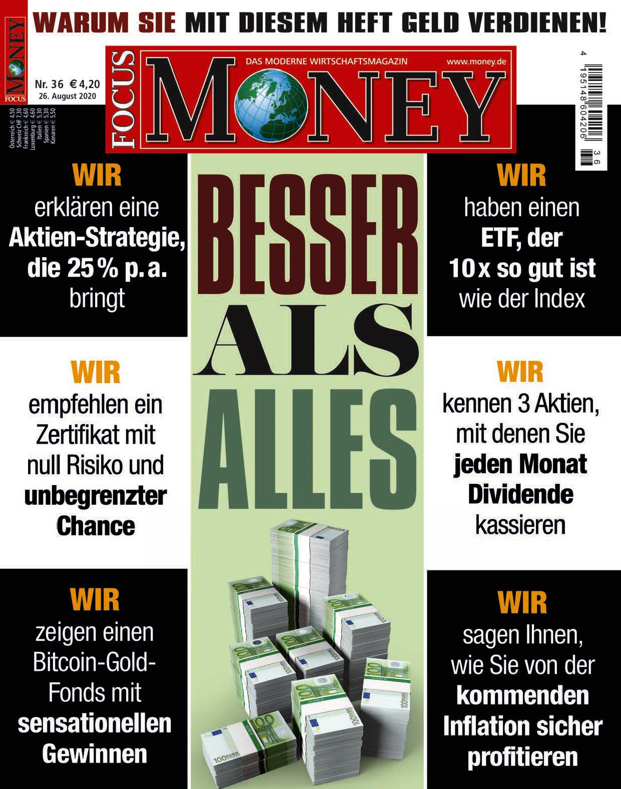 FOCUS-MONEY FOCUS MONEY – Besser als alles