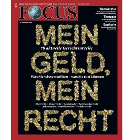 FOCUS Magazin Mein Geld, Mein Recht