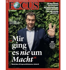 FOCUS Magazin Mir ging es nie um Macht