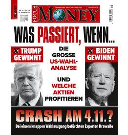 FOCUS-MONEY Was passiert, wenn...? Die große US-Wahl-Analyse