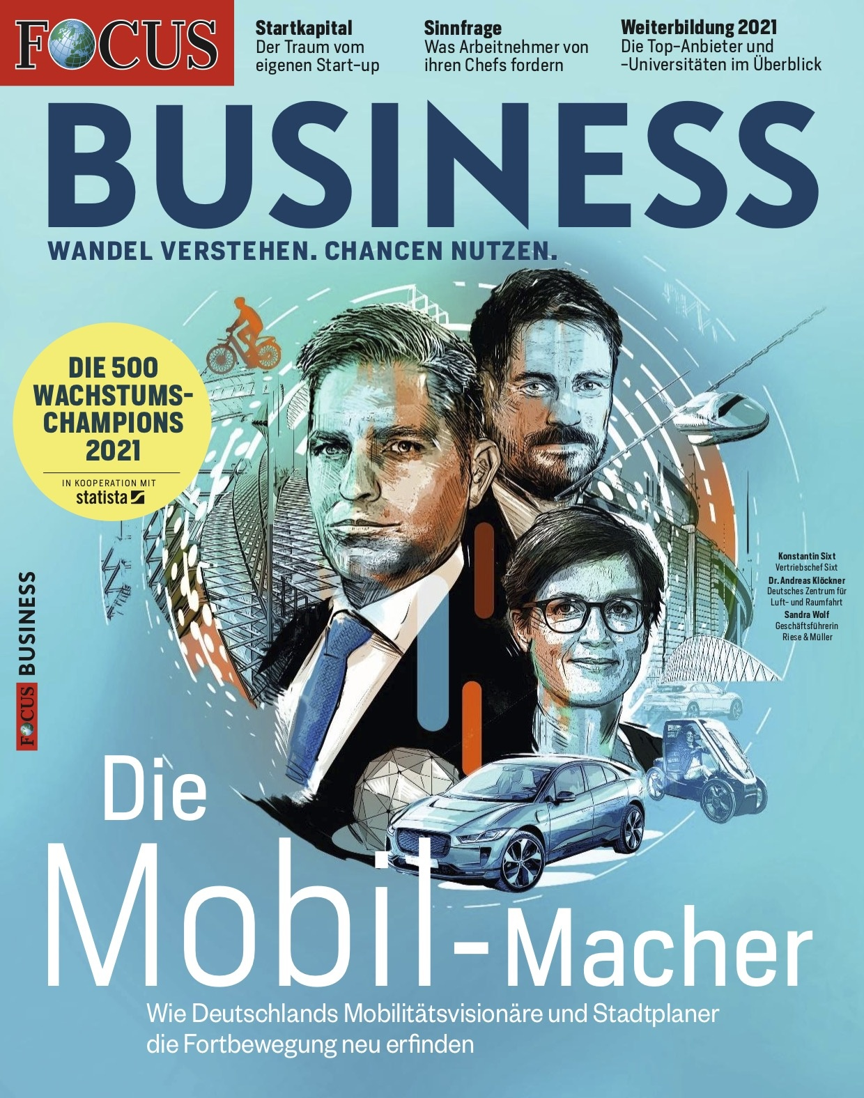 FOCUS-BUSINESS FOCUS BUSINESS - Wachstumschampions 2021