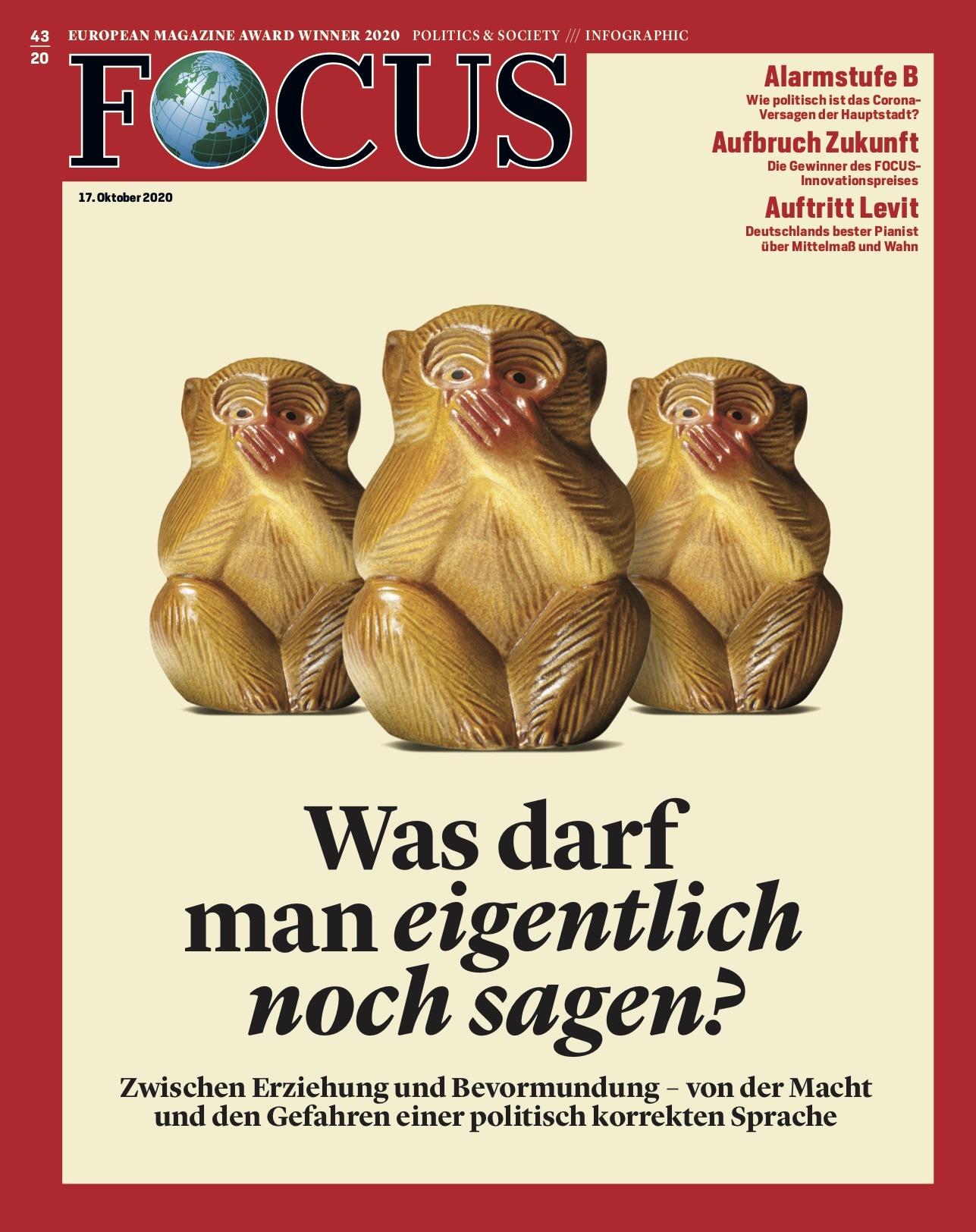 FOCUS Magazin FOCUS Magazin - Was darf man eigentlich noch sagen?
